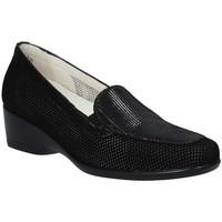 kengät Naiset Mokkasiinit Melluso R30506F Musta