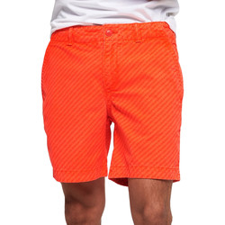 vaatteet Miehet Uima-asut / Uimashortsit Superdry M71012KT Oranssi