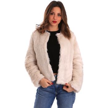 vaatteet Naiset Paksu takki Gaudi 821BD39002 Beige