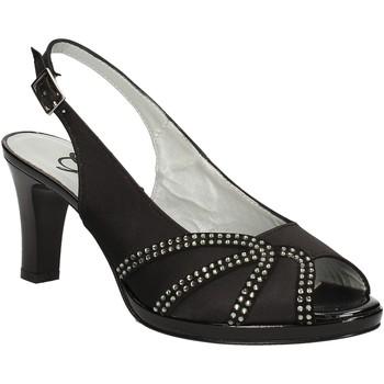 kengät Naiset Sandaalit ja avokkaat Grace Shoes E7793 Musta