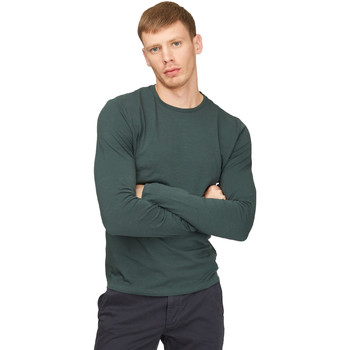 vaatteet Miehet T-paidat pitkillä hihoilla Gas 300187 Vihreä