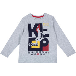 vaatteet Lapset T-paidat pitkillä hihoilla Chicco 09006867000000 Harmaa