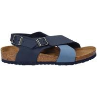 kengät Lapset Sandaalit ja avokkaat Birkenstock 1008506 Sininen