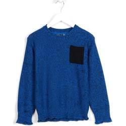 vaatteet Lapset Neulepusero Losan 623 5006AA Sininen