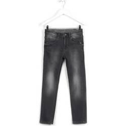 vaatteet Lapset Slim-farkut Losan 623 9002AA Harmaa