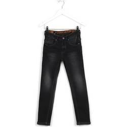 vaatteet Lapset Slim-farkut Losan 623 9007AA Musta