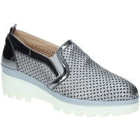 kengät Naiset Mokkasiinit Grace Shoes J306 Harmaa