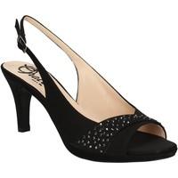 kengät Naiset Sandaalit ja avokkaat Grace Shoes 2068 Musta