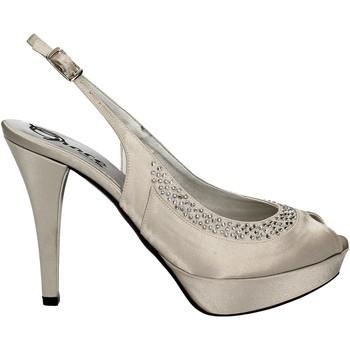 kengät Naiset Sandaalit ja avokkaat Grace Shoes 2046 Hopea