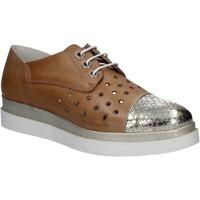 kengät Naiset Derby-kengät Keys 5107 Ruskea