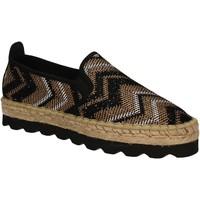 kengät Naiset Espadrillot Keys 5345 Musta
