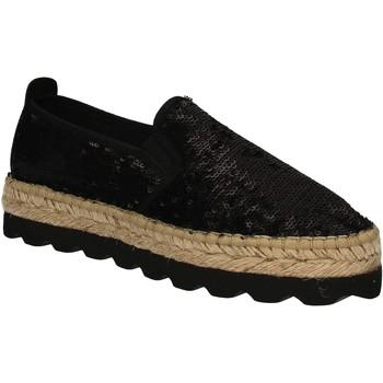 kengät Naiset Espadrillot Keys 5346 Musta