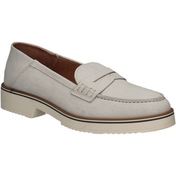 kengät Naiset Mokkasiinit Mally 5876 Hopea