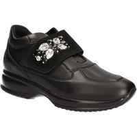 kengät Naiset Matalavartiset tennarit Byblos Blu 672011 Musta