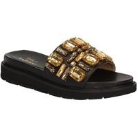 kengät Naiset Rantasandaalit Byblos Blu 672102 Musta