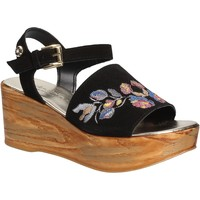 kengät Naiset Sandaalit ja avokkaat Byblos Blu 672210 Musta