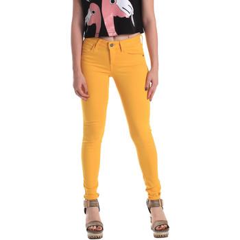 vaatteet Naiset Skinny-farkut Fornarina BE171L37D86846 Keltainen