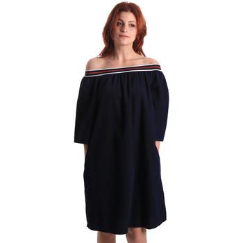 vaatteet Naiset Lyhyt mekko Fornarina BE178D60D883NT Sininen