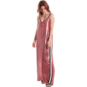 vaatteet Naiset Pitkä mekko Fornarina BE178D61CA05E9 Vaaleanpunainen