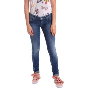 vaatteet Naiset Skinny-farkut Fornarina BER1H27D709R59 Sininen