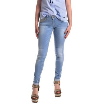 vaatteet Naiset Skinny-farkut Fornarina BER1H37D709R60 Sininen
