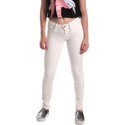 vaatteet Naiset Skinny-farkut Fornarina BER1H37D73409S Valkoinen