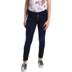 vaatteet Naiset Skinny-farkut Fornarina BER1I02D784R50 Sininen