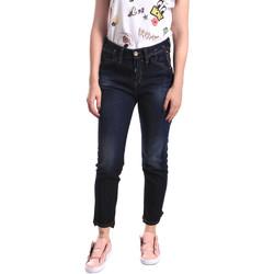 vaatteet Naiset Slim-farkut Fornarina BER1I44D790V3 Sininen