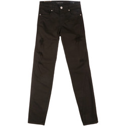 vaatteet Naiset Slim-farkut Fornarina BER1I86D844BP Musta