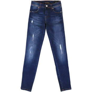 vaatteet Naiset Boyfriend-farkut Fornarina BER1I89D844UA Sininen