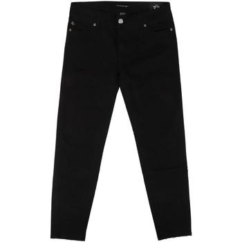 vaatteet Naiset Slim-farkut Fornarina BER1L01D840VA Musta