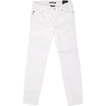 vaatteet Naiset Slim-farkut Fornarina BER1L01D851VJ Valkoinen