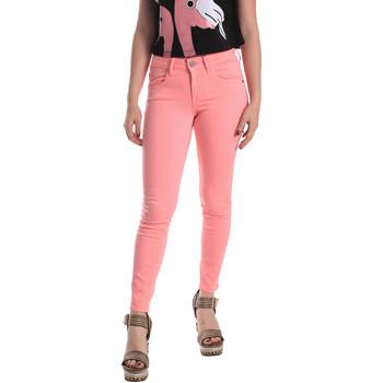 vaatteet Naiset Skinny-farkut Fornarina SE171L46D86868 Vaaleanpunainen