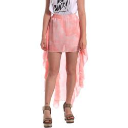 vaatteet Naiset Hame Fornarina SE172C07CA11C5 Vaaleanpunainen