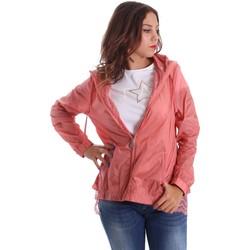 vaatteet Naiset Tuulitakit Fornarina SE173C30N29968 Vaaleanpunainen