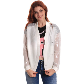 vaatteet Naiset Pusakka Fornarina SE173C37I06809 Valkoinen