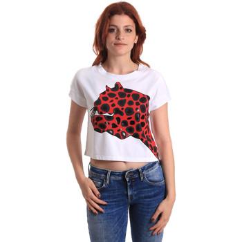 vaatteet Naiset Lyhythihainen t-paita Fornarina SE175L32JG0709 Punainen