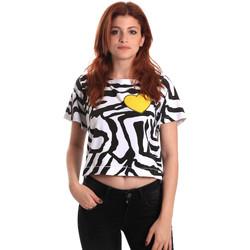 vaatteet Naiset Lyhythihainen t-paita Fornarina SE175L35JG0700 Musta