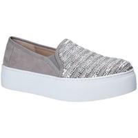 kengät Naiset Tennarit Fornarina PE17RY1111S006 Harmaa