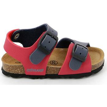 kengät Lapset Sandaalit ja avokkaat Grunland SB0025 Punainen