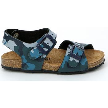 kengät Lapset Sandaalit ja avokkaat Grunland SB0911 Sininen