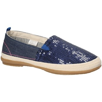 kengät Tytöt Espadrillot Grunland SC3264 Sininen