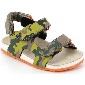 kengät Lapset Sandaalit ja avokkaat Grunland SB0832 Vihreä