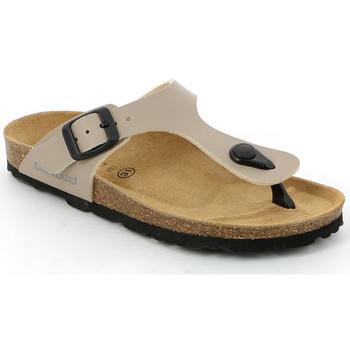 kengät Lapset Varvassandaalit Grunland CB0926 Beige