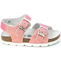 kengät Tytöt Sandaalit ja avokkaat Grunland SB0024 Vaaleanpunainen