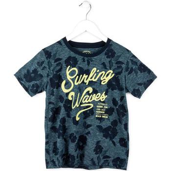 vaatteet Pojat Lyhythihainen t-paita Losan 713 1009AA Sininen