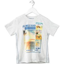 vaatteet Lapset Lyhythihainen t-paita Losan 713 1021AA Harmaa