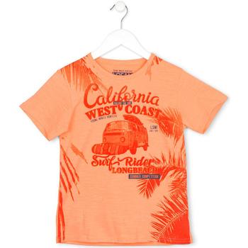 vaatteet Lapset Lyhythihainen t-paita Losan 713 1022AA Oranssi