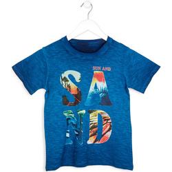 vaatteet Pojat Lyhythihainen t-paita Losan 713 1023AA Sininen