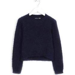 vaatteet Lapset Neulepusero Losan 624 5001AB Sininen